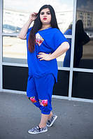 Летний женский костюм в больших размерах i-10BR684