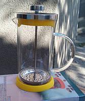 Пресс для чая с силиконовым дном EM0707, 800 мл