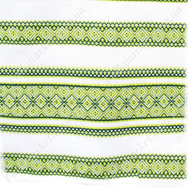 Ткань для скатертей с украинской вышивкой Роксолана ТДК-108 5/5