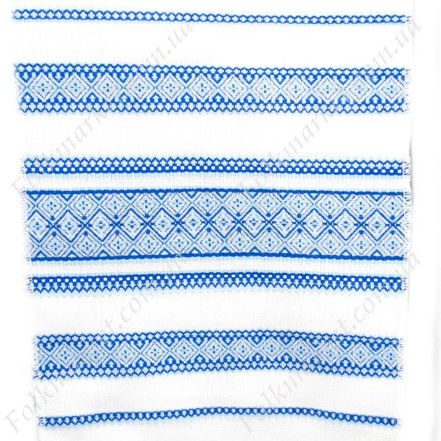 Ткань для скатертей с украинской вышивкой Роксолана ТДК-108 5/6