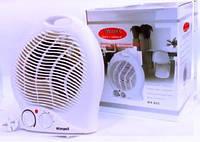 Тепловентилятор Wimpex FAN HEATER WX-426, обогреватель электрический, тепловентилятор для дома, дуйка