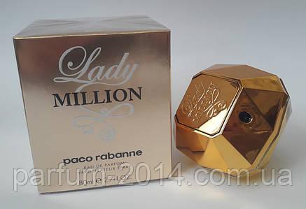 Женская туалетная вода Paco Rabanne Lady Million (реплика), фото 2