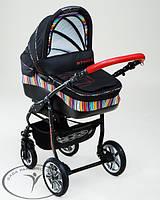 Детская коляска 2 в 1 Dada Paradiso Group (DPG) Etno Paski