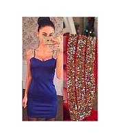 """Платье """"Шанс"""", короткое женское приталенное мини платье. Разные размеры и цвета., фото 1"""