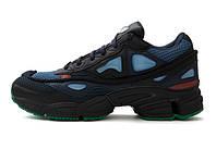 Женские кроссовки Adidas x Raf Simons Ozweego 2 Black/Blue