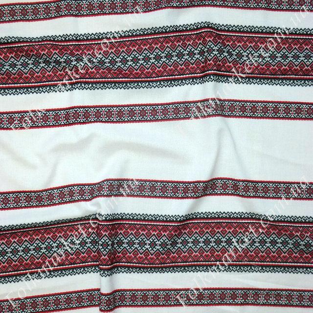 Ткань с украинской вышивкой Анастасия