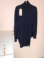 Кашемировое платье с карманами