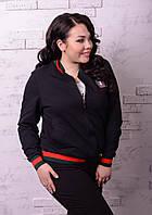 Женский спортивный костюм тройка в больших размерах c-t10BR1228