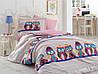 Комплект постельного белья  Hobby поплин размер полуторный Linda сиреневый