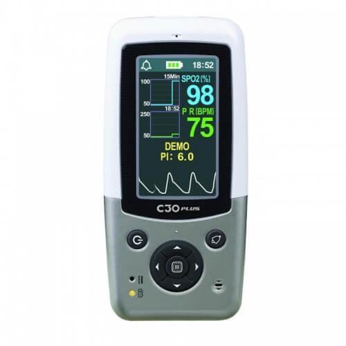 Монитор пациента (пульсоксиметр)Heaco CХ130 с детским датчиком SpO2