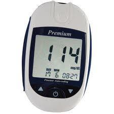 Глюкометр Finetest auto-coding Premium