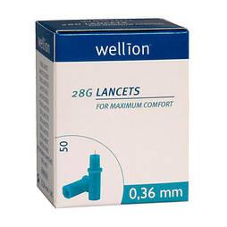 Ланцети Wellion 28g №50
