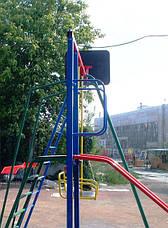 Комплекс с горкой и качелями уличный , фото 3