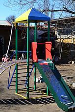 Комплекс Башенка с горкой спортивно-игровой для детей , фото 3