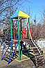 Комплекс Башенка с горкой спортивно-игровой для детей , фото 2