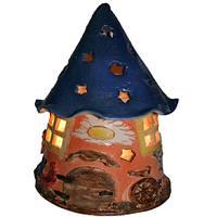 Соляная лампа (детский ночник) Дом гнома