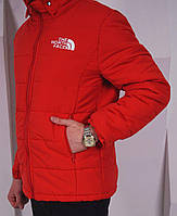 Молодежная зимняя куртка нортс фейс, зимняя куртка