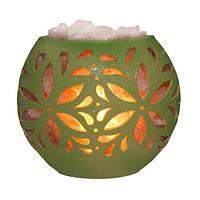 Соляная лампа Флора диск