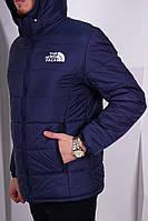 Кежуальная зимняя куртка нортс фейс, зимняя куртка