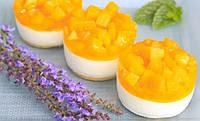 Чізкейк з фруктами в одноразовій тарталетці (на фото без тарталетки)