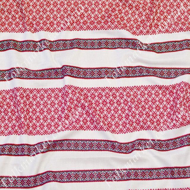 Ткань с украинской вышивкой Анастасия ТДК-73 2/1