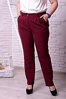 Женские классические брюки в больших размерах w-t10BR17, фото 1
