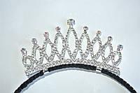 Металлическая корона на обруче