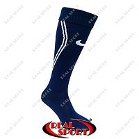 Гетры футбольные Nike FB020148 (х-б, верх-нейлон, р-р 40-45, темно-синий)