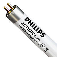 Лампа PHILIPS Actinic BL TL 8W/10 1FM (ПОЛЬША)