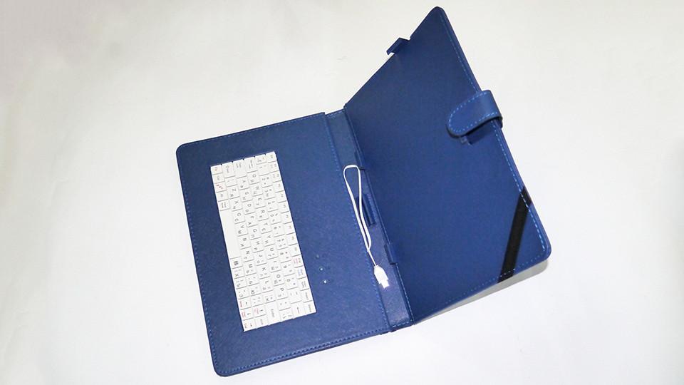Чехол с клавиатурой для планшета 10 дюймов Синий