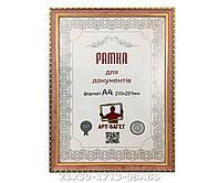Фоторамка ,пластиковая, А4, 21х30, рамка , для фото, дипломов, сертификатов, грамот, картин, 1713-08ABS