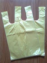 Пакет майка 22х36 див./100 шт. уп., фасувальні поліетиленові пакети купити оптом від виробника Київ