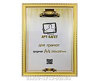 Фоторамка ,пластиковая, А4, 21х30, рамка , для фото, дипломов, сертификатов, грамот, картин, 1713-92ABS