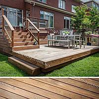 Строительство террас — многоуровневая открытая терраса из дерева к дому
