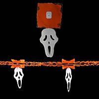 Гирлянда 3D Хэллоуин с подвеской Крик