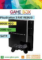 PlayStation 3 FAT 80 GB + 5 Игр PS3