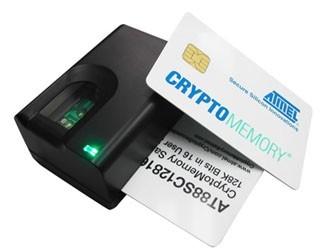 Сканер отпечатков пальцев со встроенным считывателем смарт-карт «FS-82»