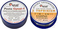 Набор для пайки Topex припой и паста 44E732