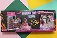 Двухэтажный Домик для кукол Монстр Хай (2 шт.) в коробке 39*98*14 см