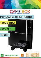 PlayStation 3 FAT 160 GB + 10 Игр PS3