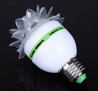 """Вращающаяся разноцветная лампа LED """"цветок"""", фото 1"""