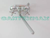 Смеситель для ванной Haiba Dominox 140 Euro Satin