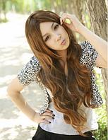 Парик - длинные вьющиеся волосы, искусственные волосы, женский парик, 3 цвета