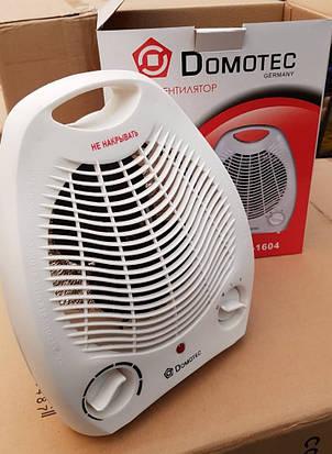 Тепловентилятор (обогреватель) Domotec DT-1604 2000W, фото 2