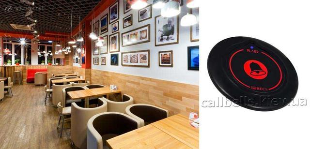 Кнопка вызова официанта R-102 в кафе