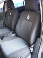 Чехлы на сиденья (деленный) Renault duster (рено дастер 2015+) раздельная спинка, airbag
