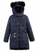 Стильное зимнее пальто  на девочку, фото 1