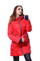 Куртка женская зима SNOW IMAGE SID-P310 Красный