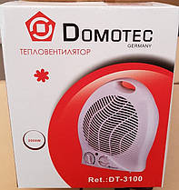 Тепловентилятор (обогреватель) Domotec DT-3100 2000W, фото 2