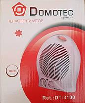 Тепловентилятор (обогреватель) Domotec DT-3100 2000W, фото 3